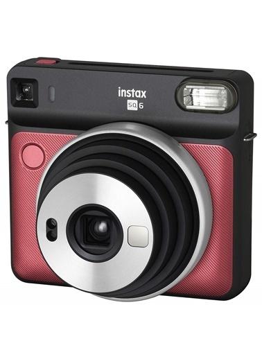 Fujifilm Instax SQ 6 Ruby Red Fotoğraf Makinesi Renkli